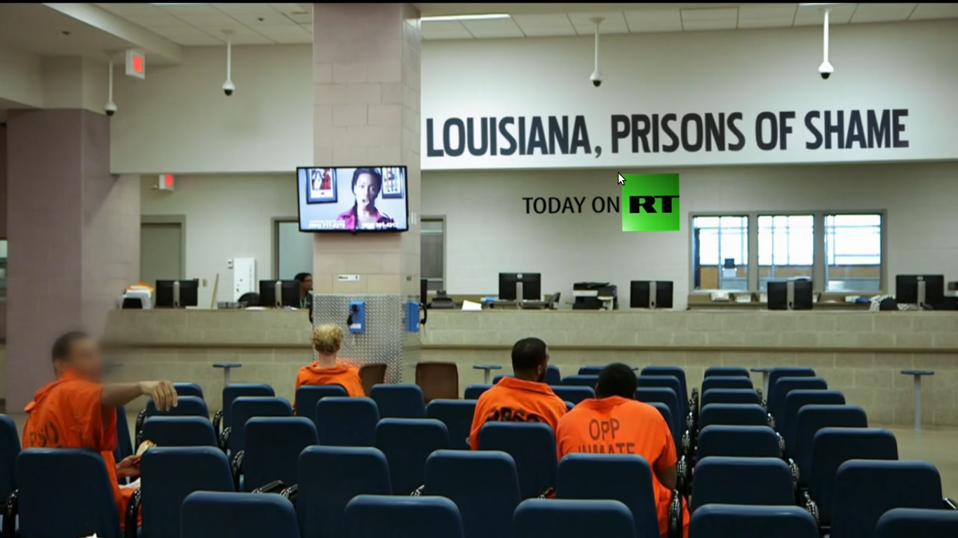 USA: LOUISIANA, PRISONS OF SHAME. - DOCUMENTARY - AUDIO ENG