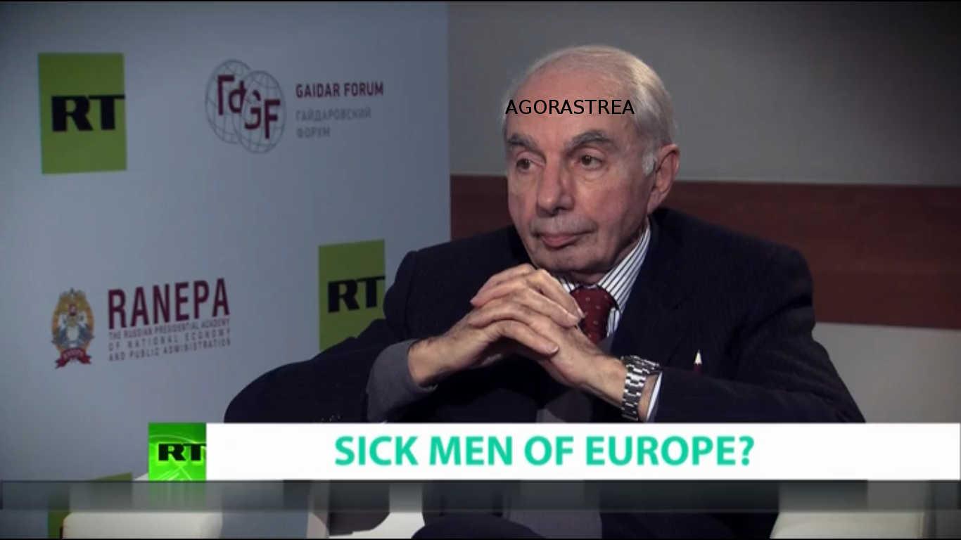 UK & RUSSIA 'SICK MEN OF EUROPE' - FORMER ITALIAN PM GIULIANO AMATO - 21-01-2018