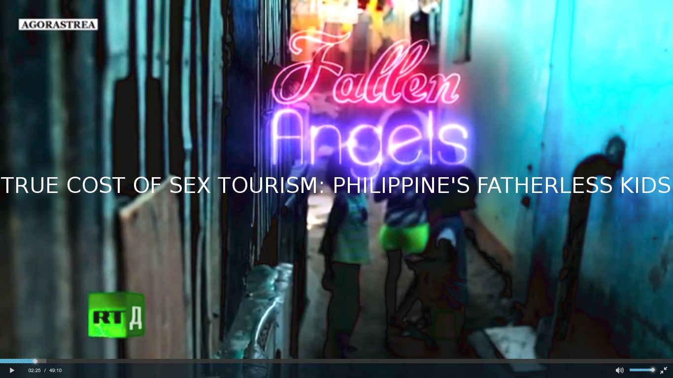 FALLEN ANGEL. TRUE COST OF SEX TOURISM: PHILIPPINE'S FATHERLESS KIDS