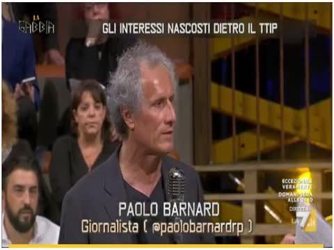 PAOLO BARNARD, LA GABBIA, 11-05-2016 - BOOTLEG