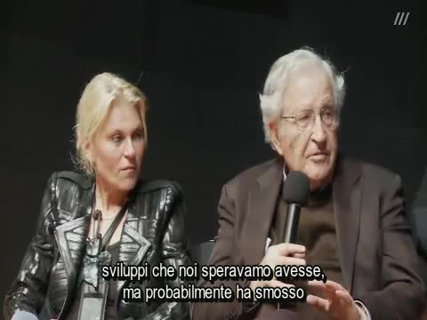 NOAM CHOMSKY: DRIVING FORCES IN US POLICY DISKUSSION - SUB ITA