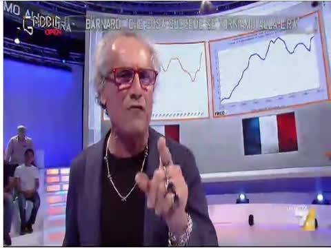PAOLO BARNARD: INTERVENTI TRASMISSIONE -LA GABBIA- 05 LUGLIO 2016 - 05/07/2016