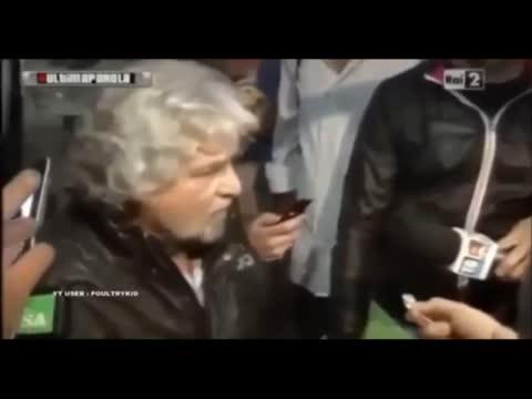 Beppe Grillo a Trento: vogliamo la sovranità monetaria. Vogliamo uno Stato nostro e una banca di Stato. (FEBBRAIO 2013)<br /> Beppe Grillo - Uscire Dall'Euro? Non l'ho Mai Detto! (maggio 2014)
