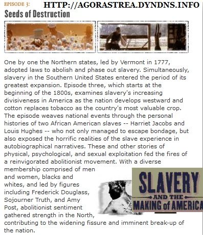 Slavery and the Making of America (PBS-Public Broadcasting Service) (Complete Four-Part, History Documentary)