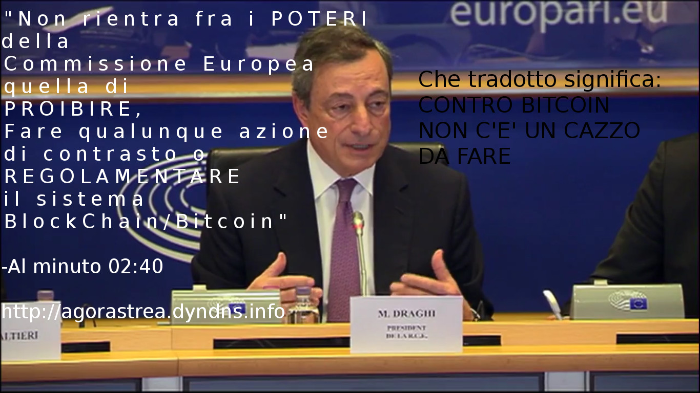 Bitcoin and the European Commission