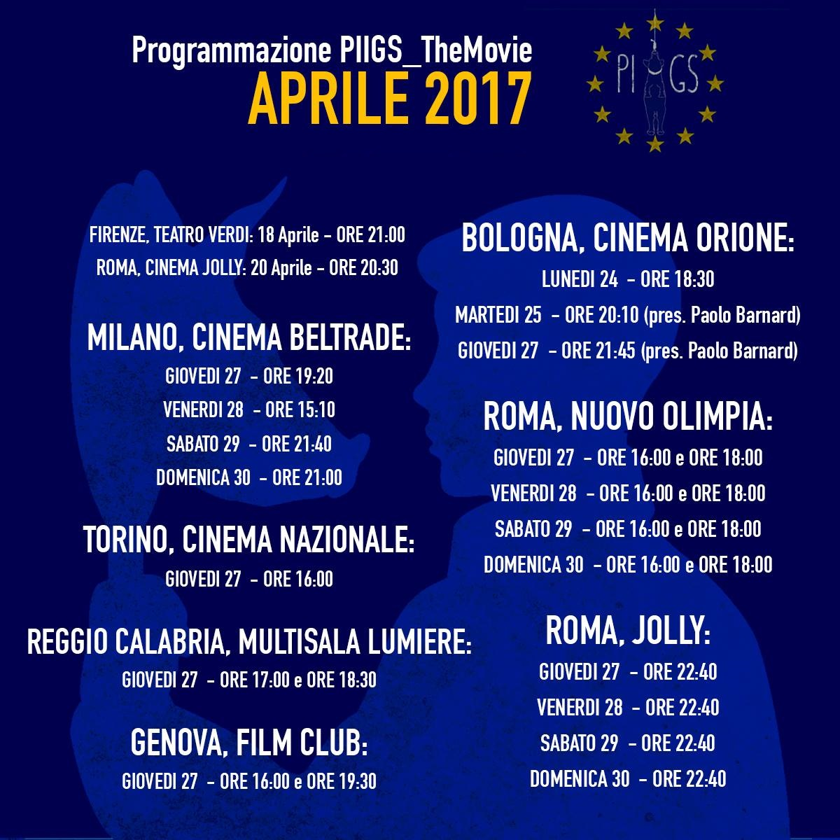 PIIGS - OVVERO COME IMPARAI A PREOCCUPARMI E A COMBATTERE L'AUSTERITY - TRAILER ESTESO 15 MINUTI - date proiezioni cinema