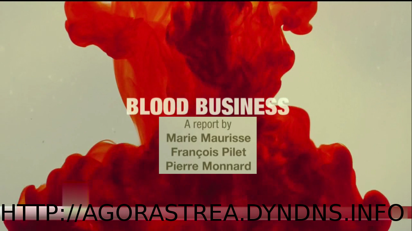 BLOOD BUSINESS - DOCUMENTARY - AUDIO ENG